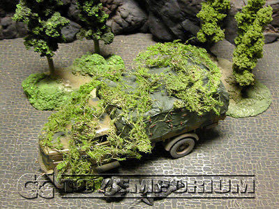 """RETIRED & BRAND NEW"" Build-a-Rama 1:32 Hand Painted WWII Deluxe Ambush Cover Set"