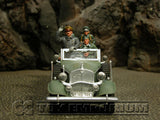 """RETIRED"" King & Country 1:30 Scale ""Deluxe German Staff Car Set - Paris Visit MIB"