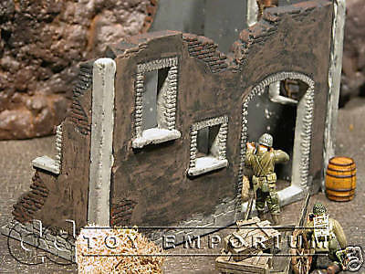 """RETIRED"" Pro Built - Hand Painted & Weathered  Verlinden 1:35 WWII Custom 2 Story Old Barn"
