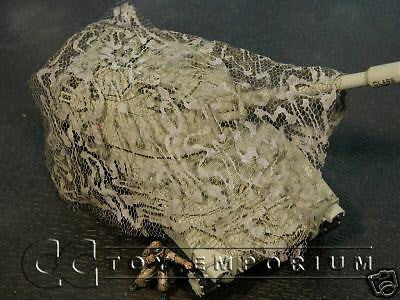 """RETIRED & BRAND NEW"" Build-a-Rama 1:32 Hand Painted WWII ""Desert"" Camo Net Set (3 Piece set)"