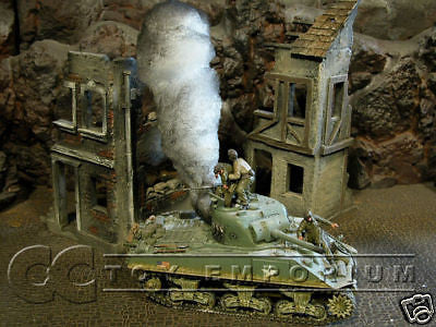 """RETIRED & BRAND NEW"" Build-a-Rama 1:32 Hand Painted WWII Deluxe 3-D Smoke (Tank)"