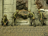 """BRAND NEW"" Custom Built & Hand Painted 1:35 WWII German Infantry ""Ukraine Summer 1943 Soldier Set (4 Figure Set)"
