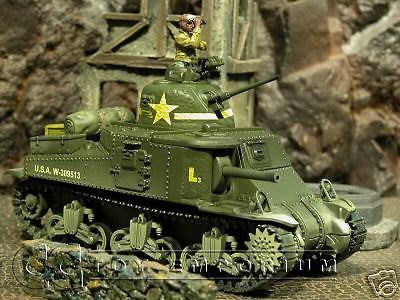 """RETIRED"" Forces Of Valor 1:32 Scale US M3 Lee Tank - Tunisia 1942'"