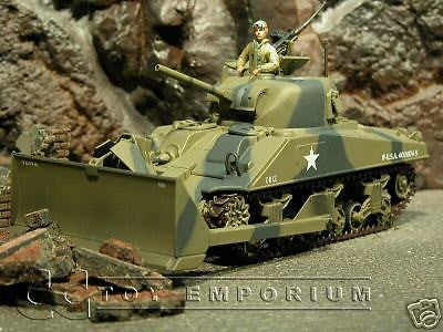 """RETIRED""  Ultimate Soldier  WWII US M4A3 Sherman Dozer"