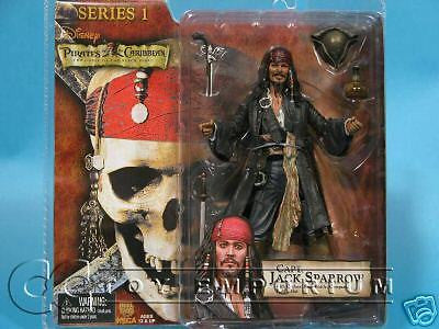 """BRAND NEW"" Pirates of the Caribbean Smiling Jack Sparrow Figure Series #1 Variant!"
