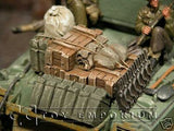 """RETIRED & BRAND NEW"" Build-a-Rama 1:32 Scale WWII Deluxe Hand Painted Tank Stowage Set (4 Piece set)"