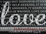 1 Corinthians Love Verse Canvas Design -Canvas Designs -PovertyBarn - 6