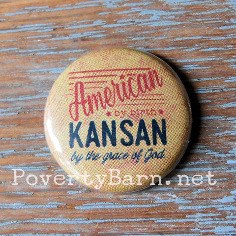 Home State and Random Fun Pin Back Buttons and Magnets -Everything Else -PovertyBarn - 1