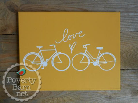Love Spoke Canvas Design -Canvas Designs -PovertyBarn - 1