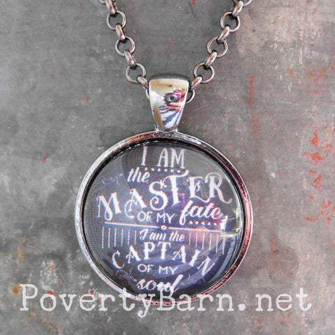 Captain of My Soul Pendant Necklace or Key Ring -Everything Else -PovertyBarn