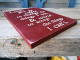 Coffee and Wine Prayer Hand Painted Wood Box Style Sign -Box Style Signs -PovertyBarn - 6