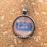 Home State Pendant Necklace or Key Ring -Everything Else -PovertyBarn - 3