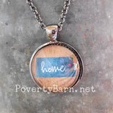 Home State Pendant Necklace or Key Ring -Everything Else -PovertyBarn - 2