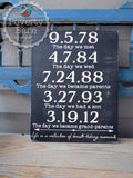Life is a Collection of Breath-Taking Moments Hand Painted Wood Sign -Box Style Signs -PovertyBarn - 6