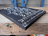 Life is a Collection of Breath-Taking Moments Hand Painted Wood Sign -Box Style Signs -PovertyBarn - 3