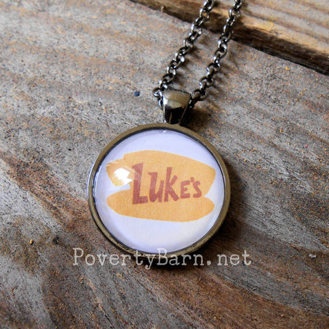 Gilmore Girls Themed Necklace or Key Ring -Everything Else -PovertyBarn - 1