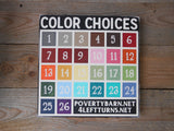 Prayer Changes Everything Block Font Hand Painted Wood Box Style Sign -Box Style Signs -PovertyBarn - 2