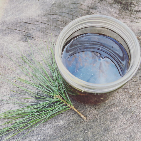 White Pine Needle Cough Syrup