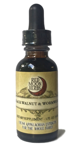 Black Walnut and Wormwood Herbal Extract for Parasites