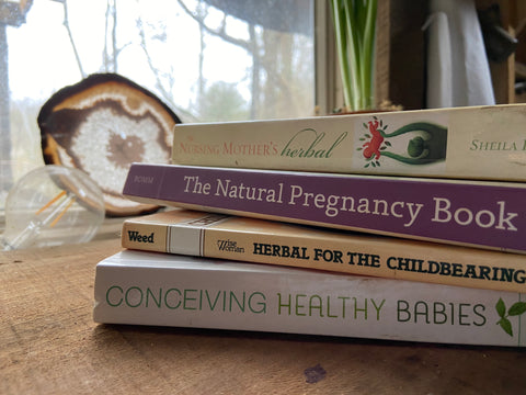Herbs for Nursing, Lactation, and Breastfeeding Resources and Books