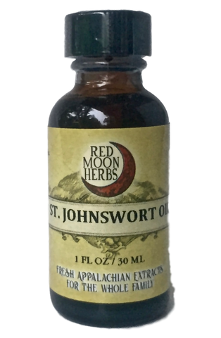 St. John's Wort Herbal Oil for Skin