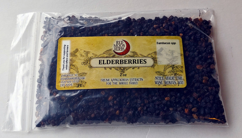 Elderberries (Sambucus nigra / canadensis) Dried Herb for Immune Health and Wellness