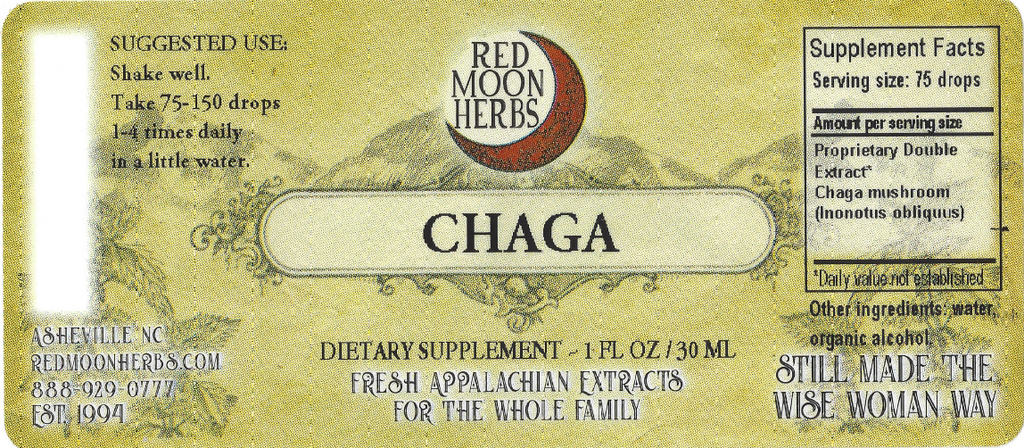 Chaga (Inonotus obliquus) Herbal Extract Suggested Uses and Supplement Facts