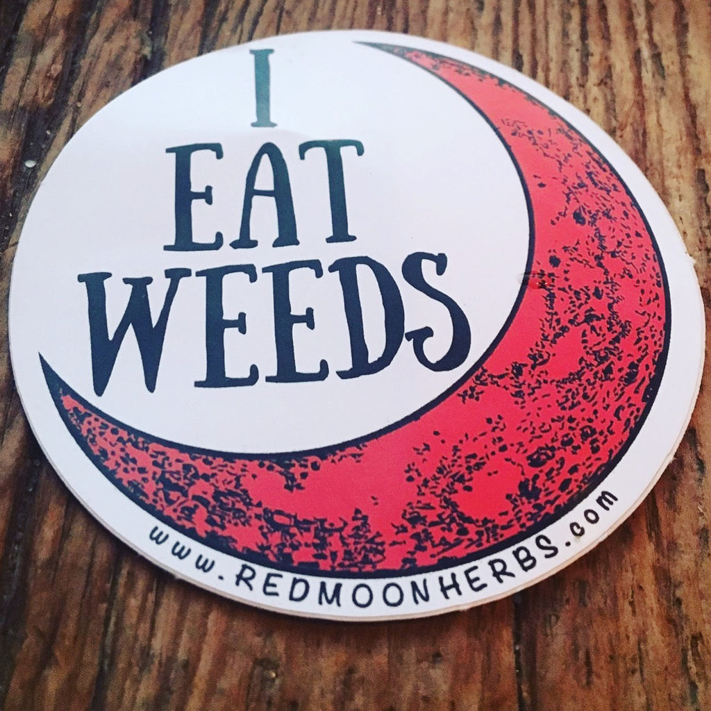 I Eat Weeds Sticker