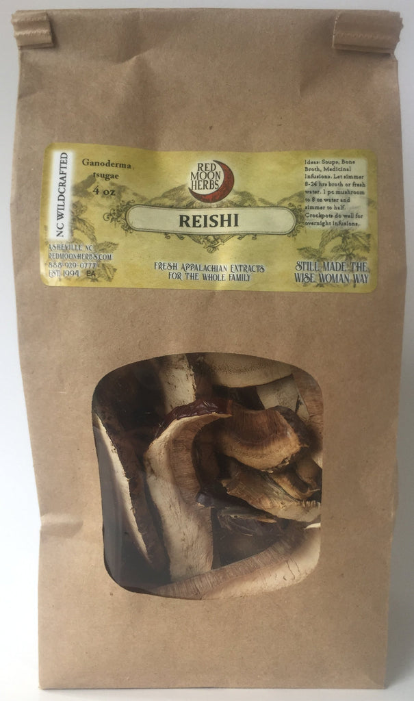Reishi (Ganoderma lucidum/tsugae) Dried Wild Mushroom Fruiting Body Cap for Wellness and Immune Health