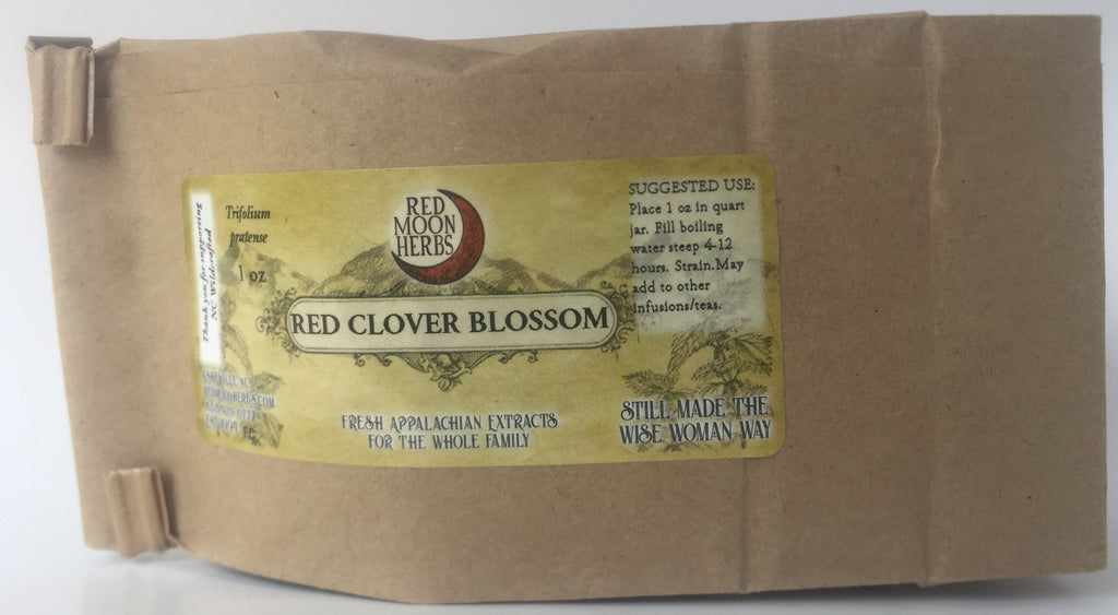 Red Clover (Trifolium pratense) Dried Wild Plant Herb Flower Blossom for Fertility, Women's, and Reproductive Health