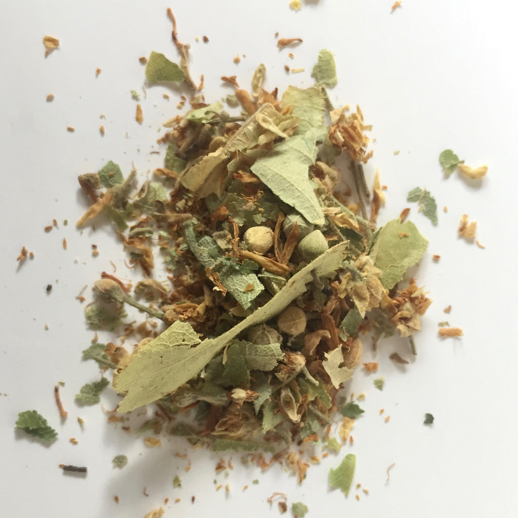 Linden (Tilia europeae) Flower Blossom and Leaf Dried Herb for Immune Health