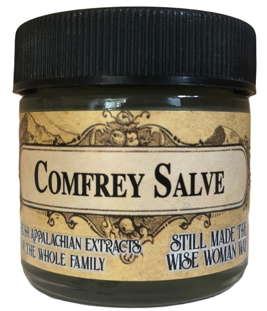 Fresh Comfrey Root Leaf for Skin Health Herbal Salve