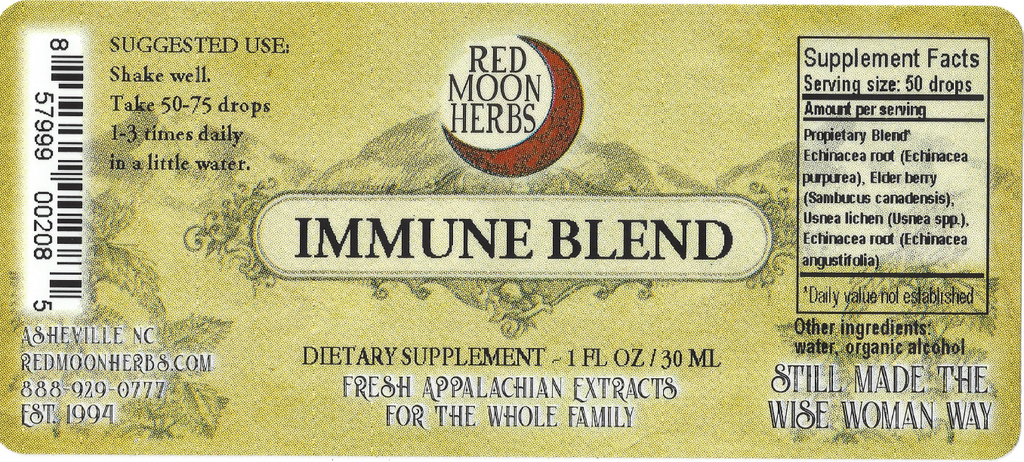 Immune Blend Herbal Extract of Echinacea, Elderberry, and Usnea Immune Blend Herbal Extract of Echinacea, Elderberry, and Usnea Immune Blend Herbal Extract of Echinacea, Elderberry, and UsneSuggested Dosage and Supplement Factsa