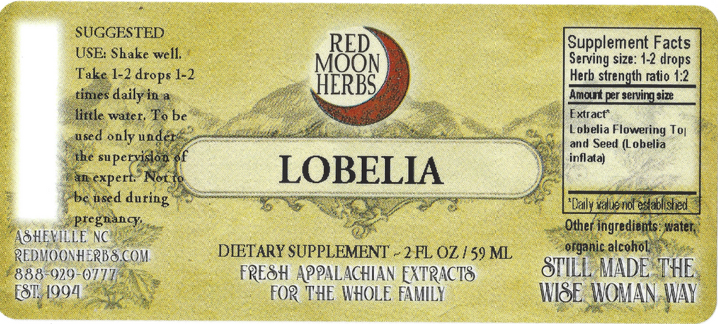 Lobelia (Lobelia inflata) Herbal Extract Suggested Dosage and Supplement Facts