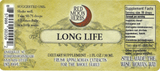 Long Life Herbal Extract with Astragalus, Burdock, and Reishi Suggested Dosage and Supplement Facts