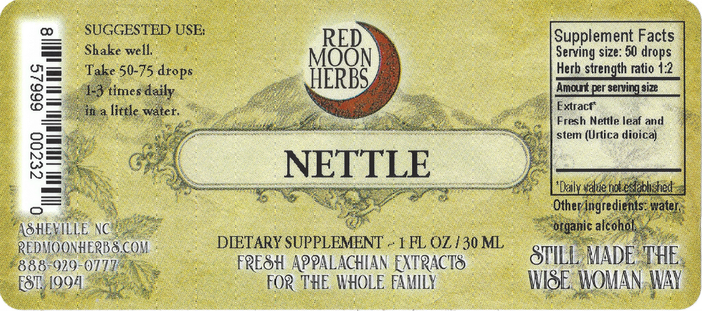 Nettle (Urtica dioica) Herbal Extract Suggested Dosage and Supplement Facts