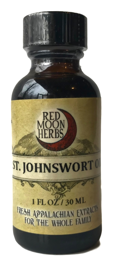 St. John's Wort Herbal Oil for Massage, Sore Muscles, Sunscreen, and Viruses