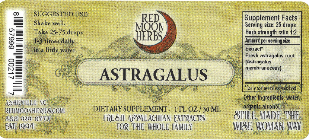 Astragalus (Astragalus membranaceus) Herbal Extract Suggested Dosage and Supplement Facts