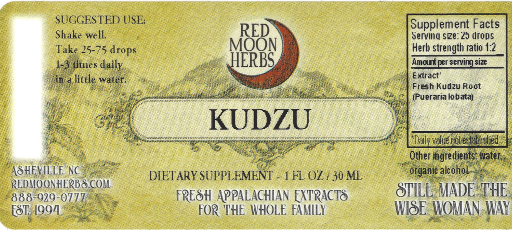 Kudzu Root (Pueraria montana) Herbal Extract Suggested Dosage and Supplement Facts