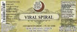 Viral Spiral Herbal Extract of Calendula, Lemon Balm, and St. John's Wort Suggested Dosage and Supplement Facts