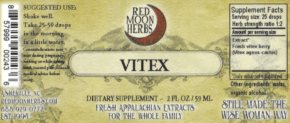 Vitex Berry (Vitex agnus-castus) Herbal Extract Suggested Dosage and Supplement Facts