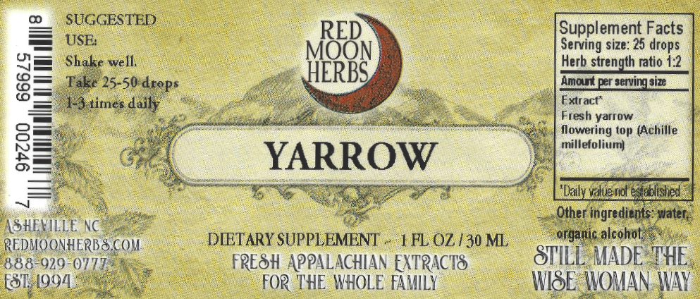 Yarrow (Achillea millefolium) Herbal Extract Suggested Dosage and Supplement Facts