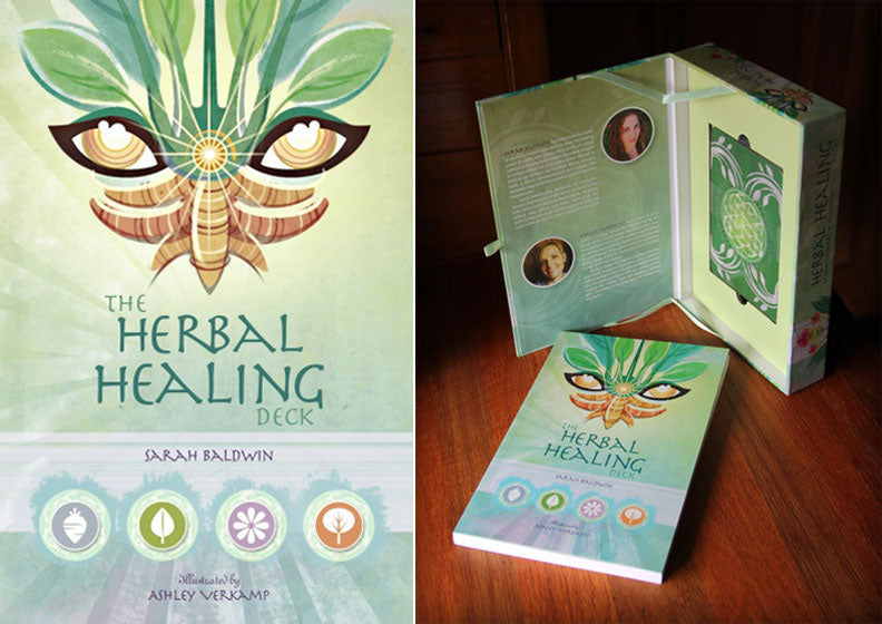 The Herbal Healing Deck Tarot Cards
