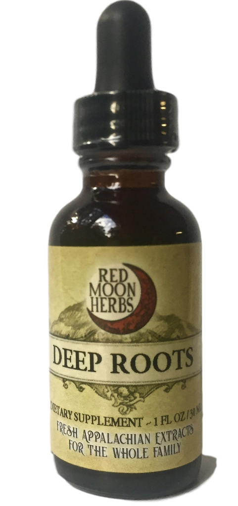 Deep Roots Herbal Extract of Dandelion, Burdock, and Yellow Dock for Liver Health