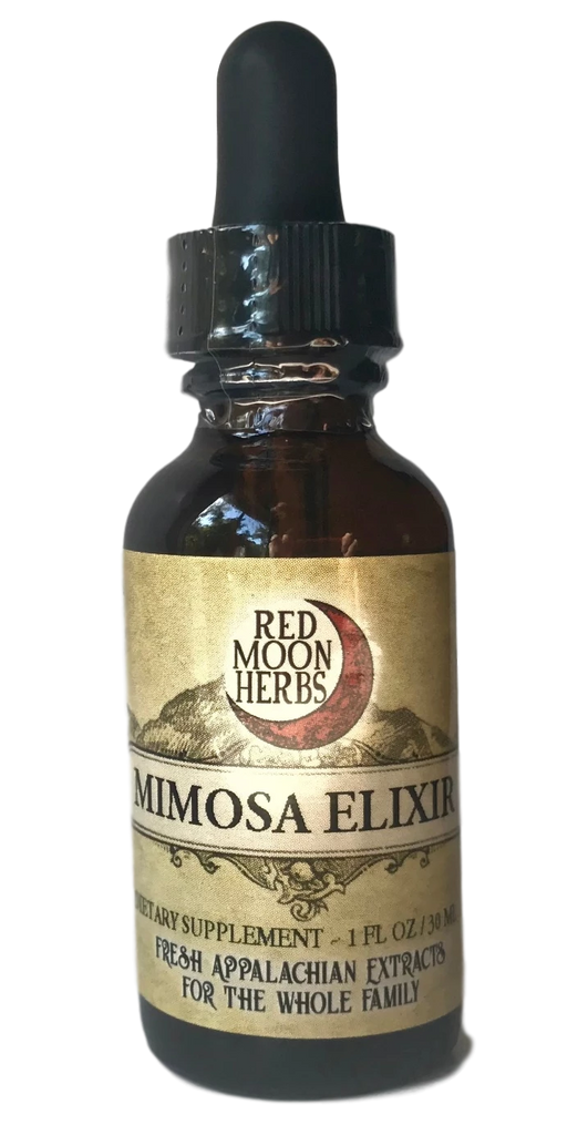 Mimosa Herbal Elixir for Grief, Emotional Heart Healing, and Mood Optimization