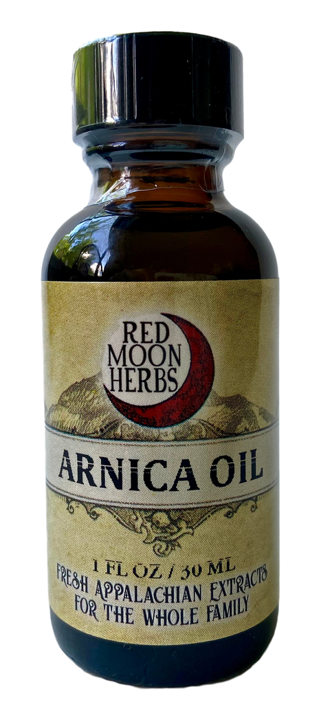 Arnica Herbal Oil for Bruises, Bone Breaks, Sprains, Injuries, Inflammation, Trauma, and Swelling