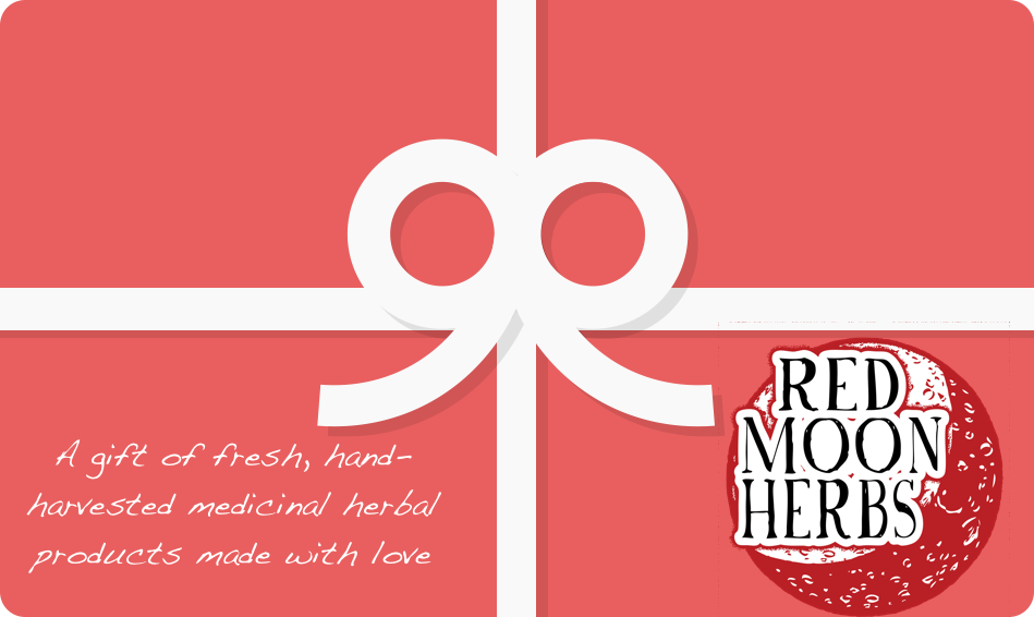 Gift Card-Gift Card-Red Moon Herbs