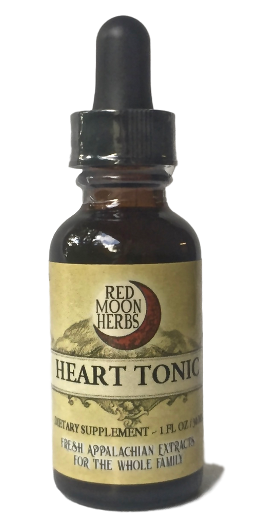 Heart Tonic with Dandelion, Hawthorn Berry, and Motherwort-Extracts-Red Moon Herbs