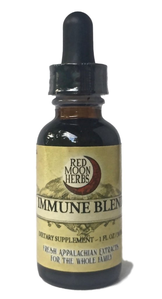 Immune Blend Herbal Extract of Echinacea, Elderberry, and Usnea for Wellness