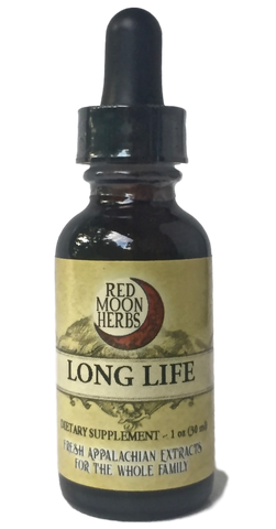 Long Life Herbal Extract with Astragalus, Burdock, and Reishi-Extracts-Red Moon Herbs